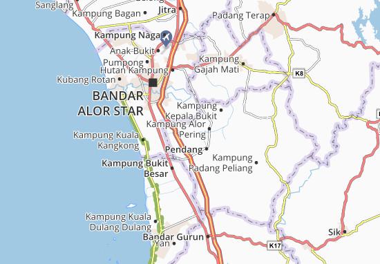 Kampung Dalam Baroh Map