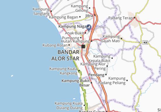 Mapas-Planos Kampung Pengkalan Kundur