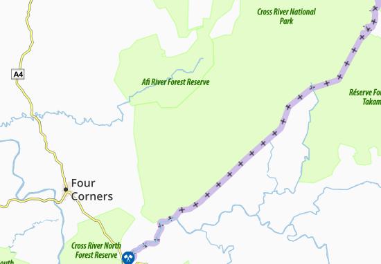 Carte-Plan Abontakon