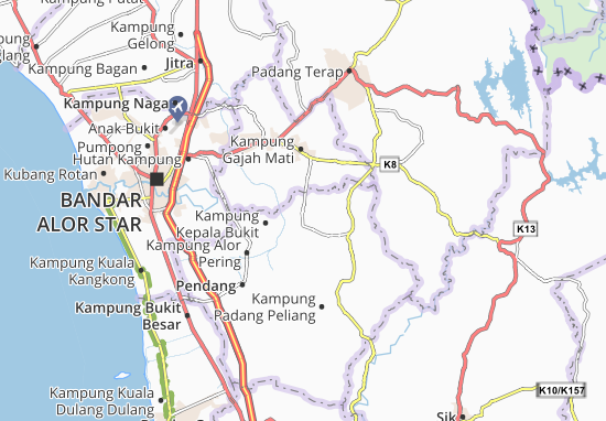 Mappe-Piantine Kampung Lubok Batu