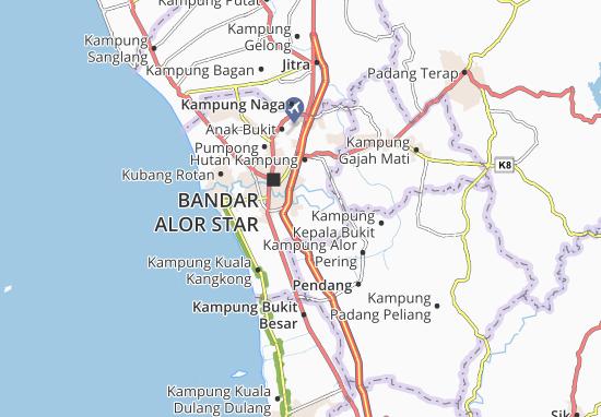 Mapas-Planos Kampung Alor Penyengat