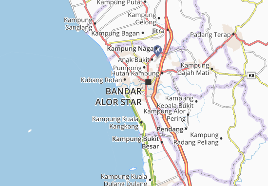 Mapas-Planos Telok Chengai