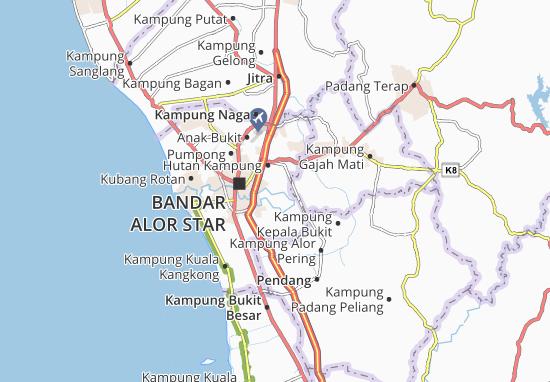 Mapas-Planos Kampung Gelam