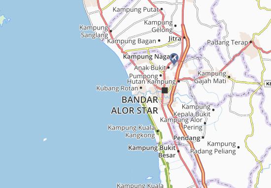 Kampung Padang Garam Map