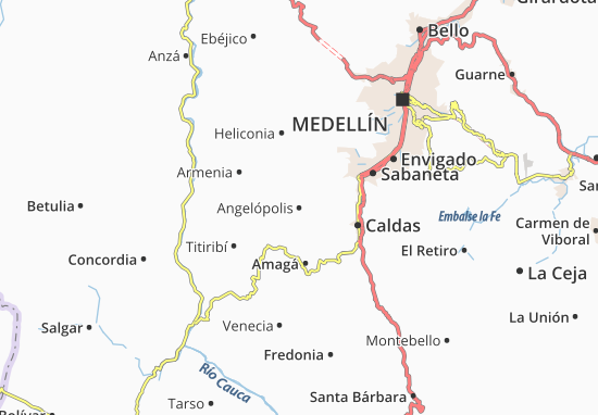 Carte-Plan Angelópolis