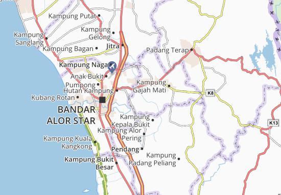 Mapas-Planos Kampung Kepala Bendang