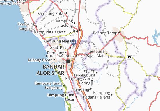 Mapas-Planos Kampung Alor Jawi