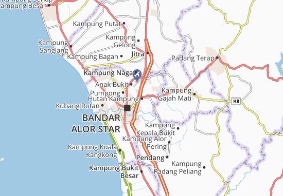 Hutan Kampung Map