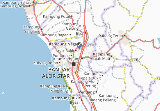 Mapas-Planos Kampung Padang