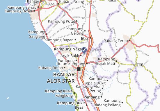 Anak Bukit Map