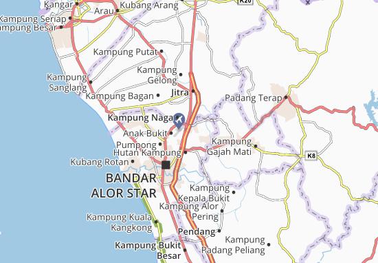 Mapas-Planos Bukit Pinang