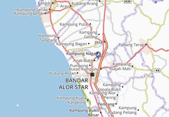 Mapas-Planos Kampung Gunung