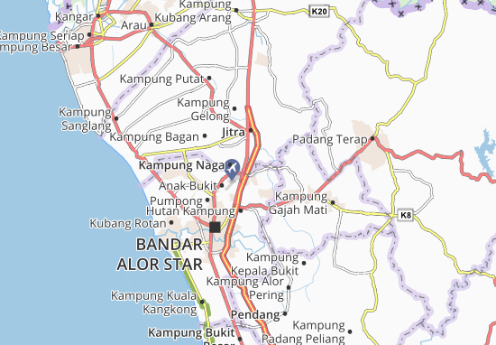 Mapas-Planos Kampung Bukit Tinggi