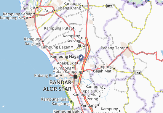 Mapas-Planos Kampung Naga