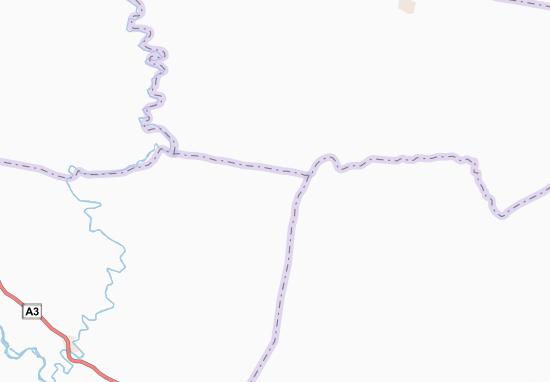 Carte-Plan Kondiébouman