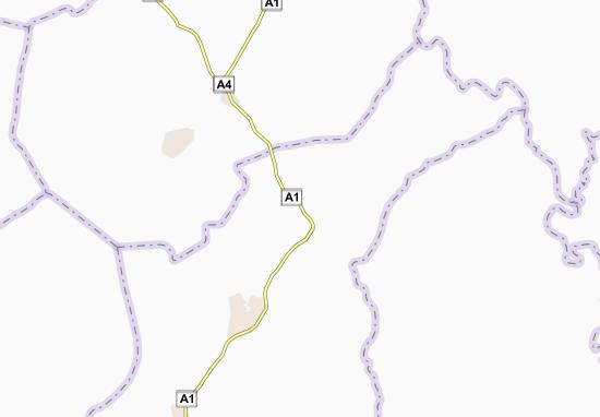Carte-Plan Aouabo