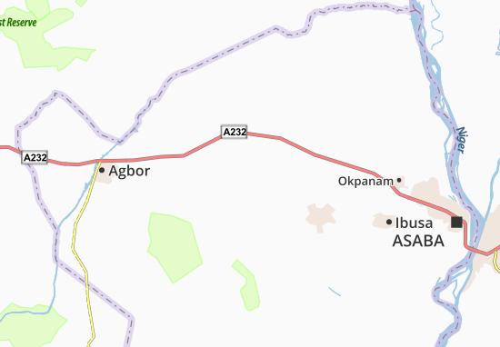 Carte-Plan Abuluku