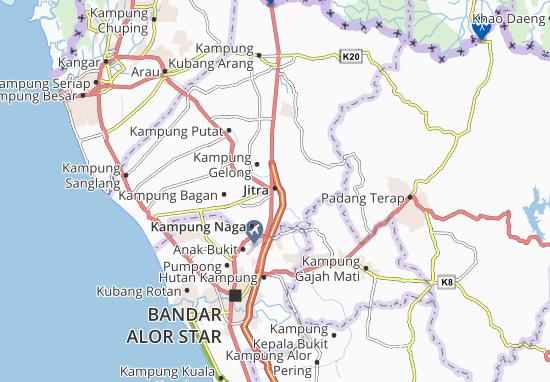 Mapas-Planos Jitra