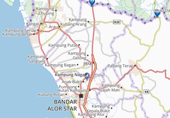 Mapas-Planos Kampung Gelong