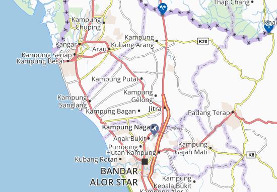 Mapas-Planos Kampung Hutan Setali