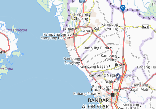 Sanglang Map