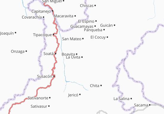 Mappe-Piantine La Uvita