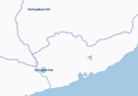 Kaart Plattegrond Udamattala