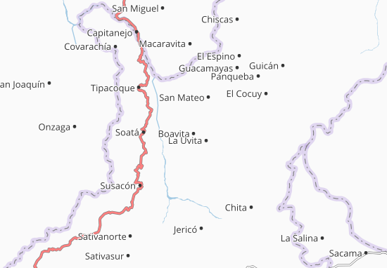 Mappe-Piantine Boavita