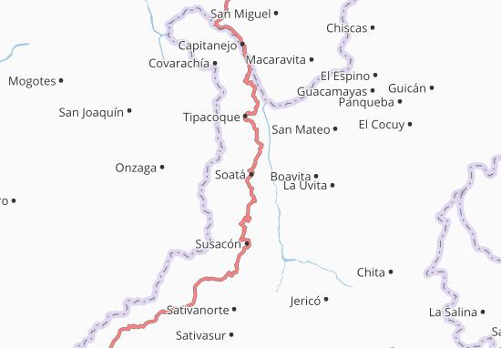 Mappe-Piantine Soatá