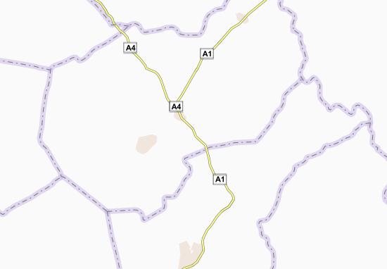 Carte-Plan Agbaou