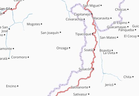 Mappe-Piantine Onzaga