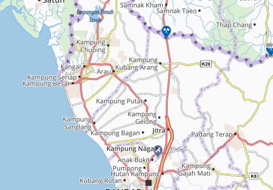 Mapas-Planos Kampung Tanjong