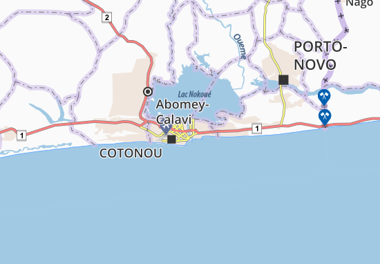 Kaart Plattegrond Dédokpo