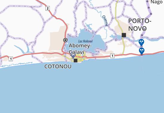 Dantokpa Map