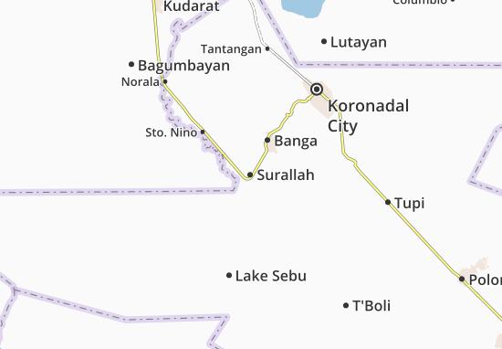 Surallah Map