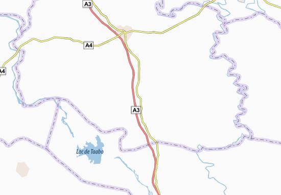 Carte-Plan Lomo-Sud