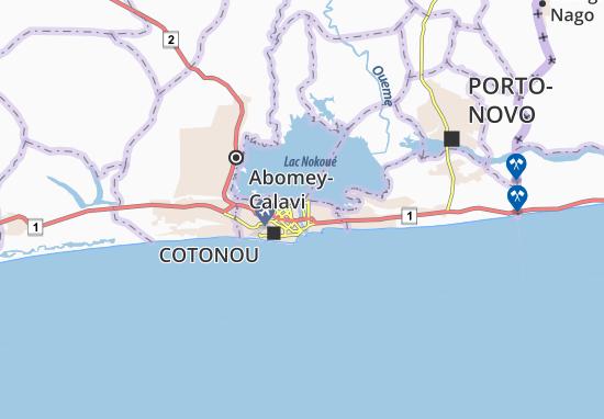 Adogléta Map