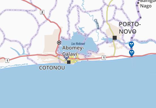 Kaart Plattegrond Agbodjèdo