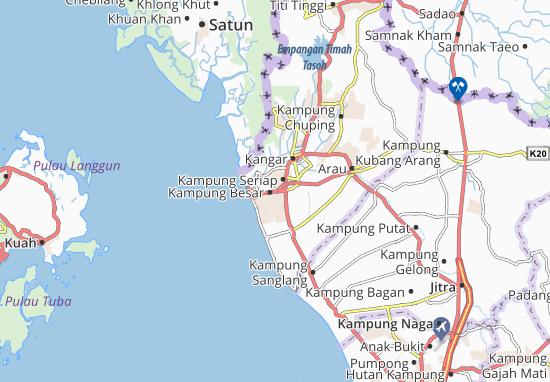 Mappe-Piantine Kampung Besar