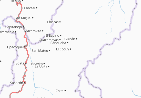 Mappe-Piantine El Cocuy