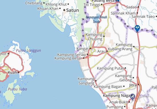 Mappe-Piantine Kuala Perlis
