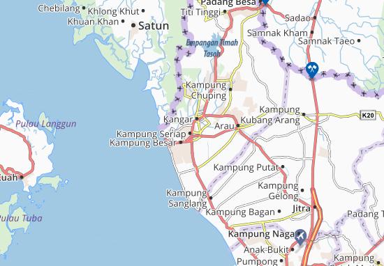 Mapas-Planos Kampung Seriap