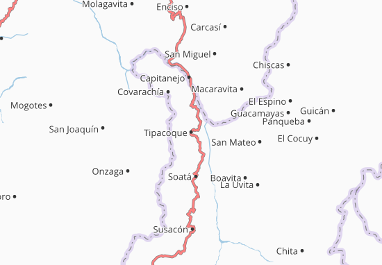 Mappe-Piantine Tipacoque