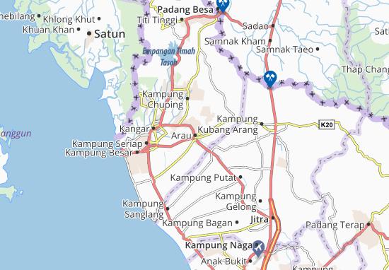 Arau Map