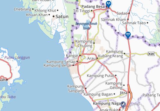 Mapas-Planos Kangar