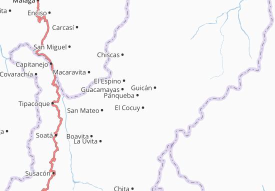 Mappe-Piantine Panqueba