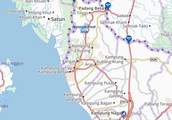 Mapas-Planos Kampung Jejawi