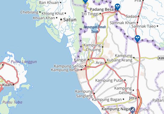 Mapas-Planos Kampung Wang Ulu