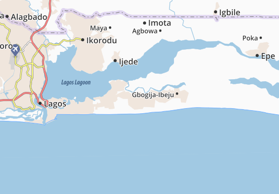 Carte-Plan Abijo