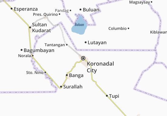 Koronadal City Map